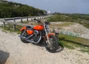 Harley davidson gasolina cor laranja