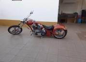 Big bear chopper gasolina cor laranja