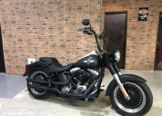 Harley davidson fat boy gasolina