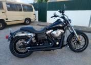 Harley davidson street bob 2006 gasolina cor preto