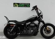 Harley davidson xl sportster 1200 nighster gasolina cor cinzento