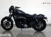 Harley davidson 883 iron 883 n gasolina cor preto