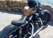 Harley davidson 1200 48 gasolina cor dourado