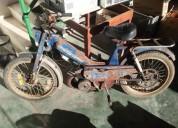 Motobecane 51v para restauro gasolina cor azul