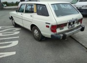 Datsun 710 2 troca gasolina car