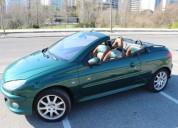 Peugeot 206 cc gasolina car