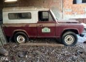 Portaro 260 7 lugares jipe todo terreno 4x4 jeep classico nacional diesel car