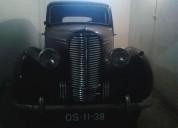 Hillman minx de 1947 gasolina car