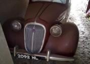 Simca 8 do ano 1949 gasolina car