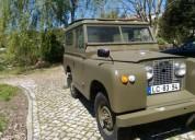 Land rover serie ii gasolina car