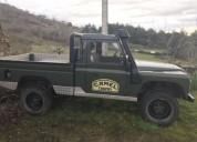 Land rover defender pick up diesel car