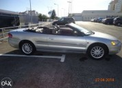 Chrysler sebring cabrio gasolina car