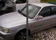 Hyundai accent 1 3 5p 2000 gasolina car