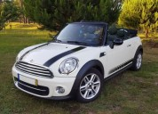 Mini cabrio cooper diesel bancos pele cruise ctr aceito troca diesel car