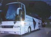 Autocarro setra mercedes cor branco caixa manual