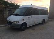 Autocarro minibus mercedes de 19 lugares condutor diesel cor branco caixa manual