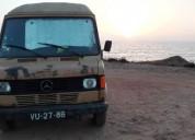 Carrinha tranformada mercedes benz 207 d diesel cor bege caixa manual