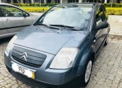 Citroen c2 comercial iva dedutivel diesel cor azul caixa manual