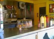 Carrinha street food diesel cor amarelo caixa manual
