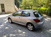 Peugeot 307 1 6 hdi comercial van 130 diesel cor cinzento caixa manual