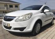 Opel corsa d van 1 diesel cor branco caixa manual