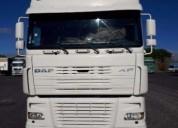 Daf xf 430 diesel cor branco caixa manual