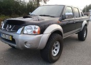Nissan navara 2 7 td diesel cor preto caixa manual