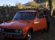 Carrinha pick up cor laranja caixa manual