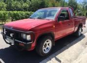 Nissan pick up x cab diesel cor vermelho caixa manual