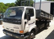 Camiao nissan cabstar tribasculante diesel