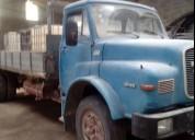 Camiao man diesel cor azul caixa manual