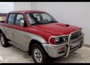 Carrinha mitsubishi l 200 2 5 td strada diesel cor vermelho caixa manual