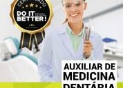 Curso de auxiliar/assistente de medicina dentária
