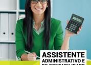 Curso assistente administrativo de contabilidade