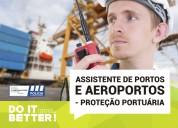 Curso ass. portos e aeroportos proteção portuára