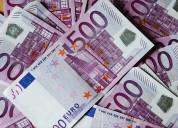 Oferta de empréstimo de dinheiro entre particular