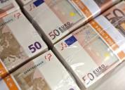 Oferta de empréstimo entre 2 000 e 100.000 euros