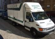 Prestamos serviços de mudanças e transportes