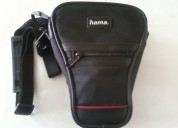 Bolsa p/máq fotográfica c/objectiva, marca hama