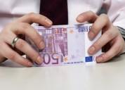 Oferta de empréstimo rápido em 24h