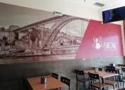 Passa se cafe snack bar restaurante en vila nova de gaia