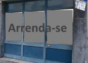 arrenda se loja 154 m2 para comercio ou servicos en faro