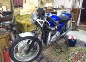 Excelente triumph thruxton 900 de 2006 carburadores