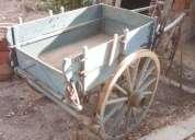 Excelente carroca de locomocao animal com arreios