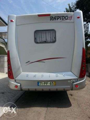 Autocaravana Mercedes Rapido como nova. Contactarse.