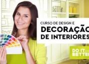 Curso de design e decoração de interiores