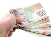 Oferecer empréstimo de emergência