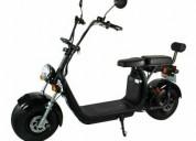 Dois seater mini cidade coco elétrico scooter