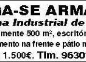Armazem zona industrial de alfena