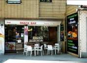 Excelente cafe snack bar taberna o retratista